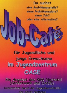 Flyer jobcafe s. 1